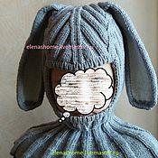 Работы для детей, ручной работы. Ярмарка Мастеров - ручная работа Шлем Кролик. Handmade.