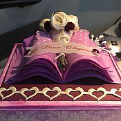 Открытки ручной работы. Ярмарка Мастеров - ручная работа Открытка-коробка поздравительная (Magic box). Handmade.