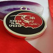 Подарки к праздникам ручной работы. Ярмарка Мастеров - ручная работа Медаль с логотипом на заказ. Handmade.