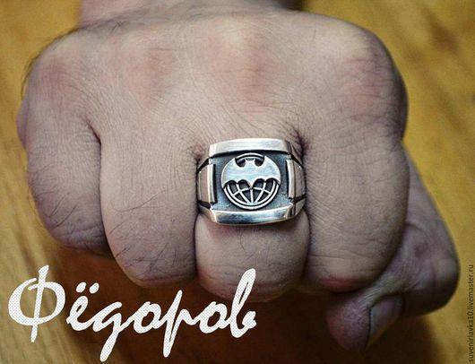 """Подарки для мужчин, ручной работы. Ярмарка Мастеров - ручная работа. Купить Перстень """"Разведка"""" XXL Авторская работа. Handmade. Разведка"""