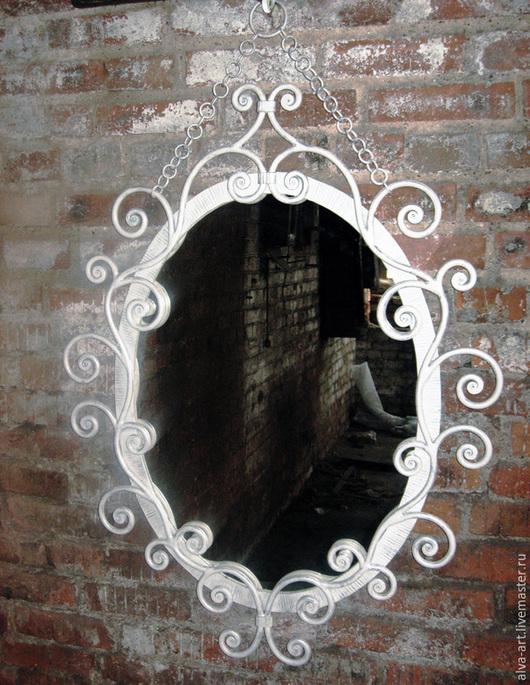 """Зеркала ручной работы. Ярмарка Мастеров - ручная работа. Купить Рама для зеркала """" Винтаж """". Handmade. Белый, для спальни"""
