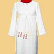 Одежда ручной работы. Ярмарка Мастеров - ручная работа Платье льняное повседневное. Handmade.