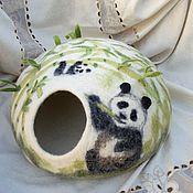 """Для домашних животных, ручной работы. Ярмарка Мастеров - ручная работа Домик для котика """"Бамбуковая роща"""". Handmade."""