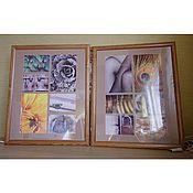 """Картины и панно ручной работы. Ярмарка Мастеров - ручная работа Фотоколлаж """"Свет и цвет"""". Handmade."""