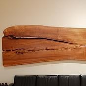 Изголовье кровати из ценных пород дерева