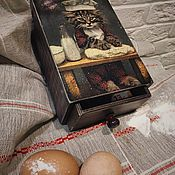 Для дома и интерьера handmade. Livemaster - original item My little chef (box kitchen). Handmade.