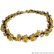Украшения handmade. Livemaster - original item Beads amber choker Berries natural stone For women gift. Handmade.