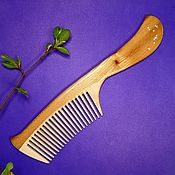 Сувениры и подарки handmade. Livemaster - original item Comb from the elm Aquarius. Handmade.