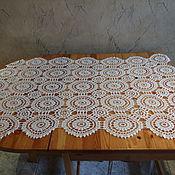 Для дома и интерьера ручной работы. Ярмарка Мастеров - ручная работа Скатерть вязаная на журнальный столик. Handmade.