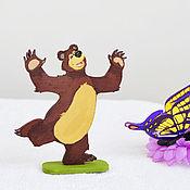 Куклы и игрушки ручной работы. Ярмарка Мастеров - ручная работа Игрушка Мишка  из серии Маша и медведь для детского развития. Handmade.