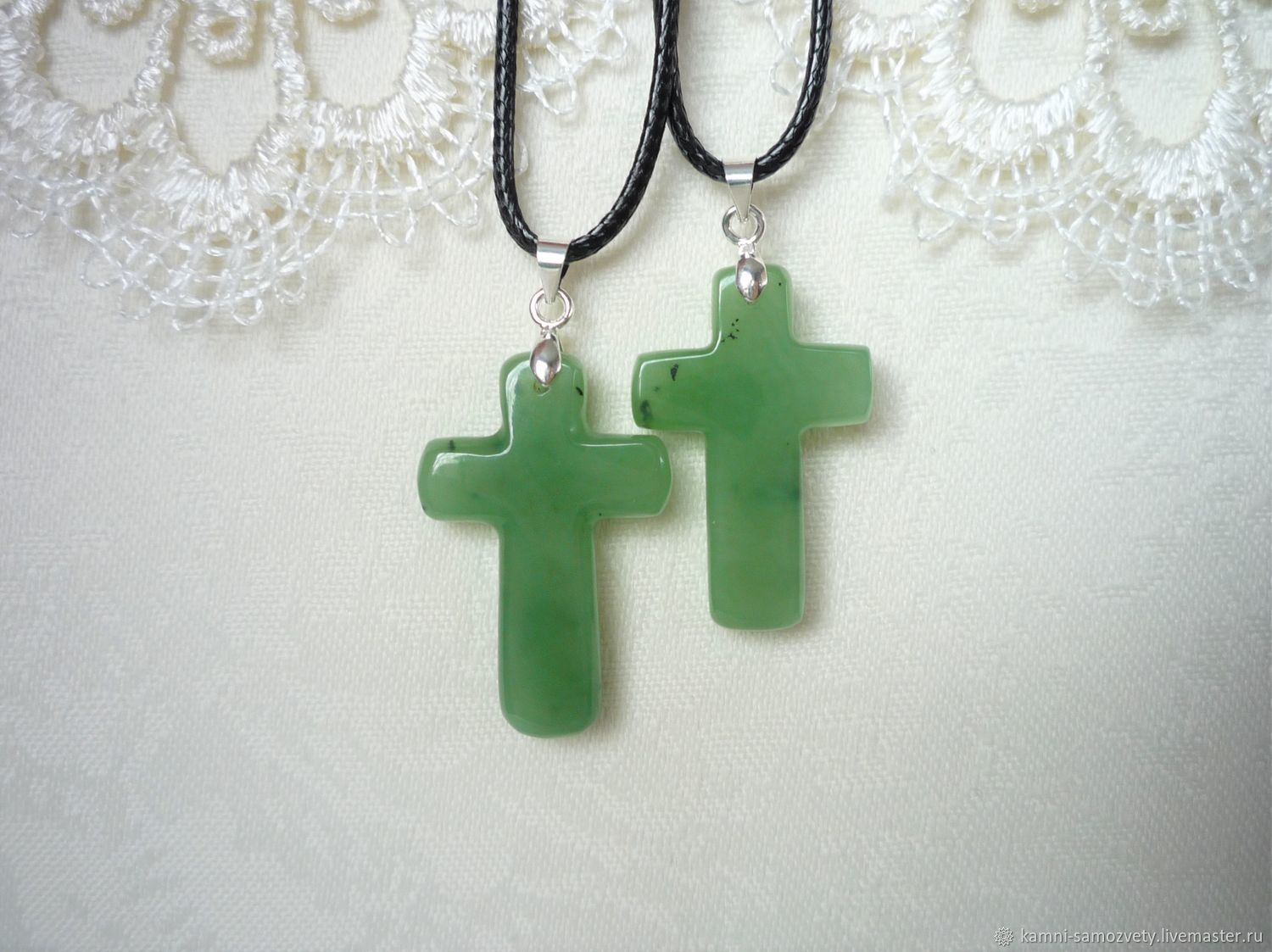 The Cross Of Jade Shop Online On Livemaster With Shipping