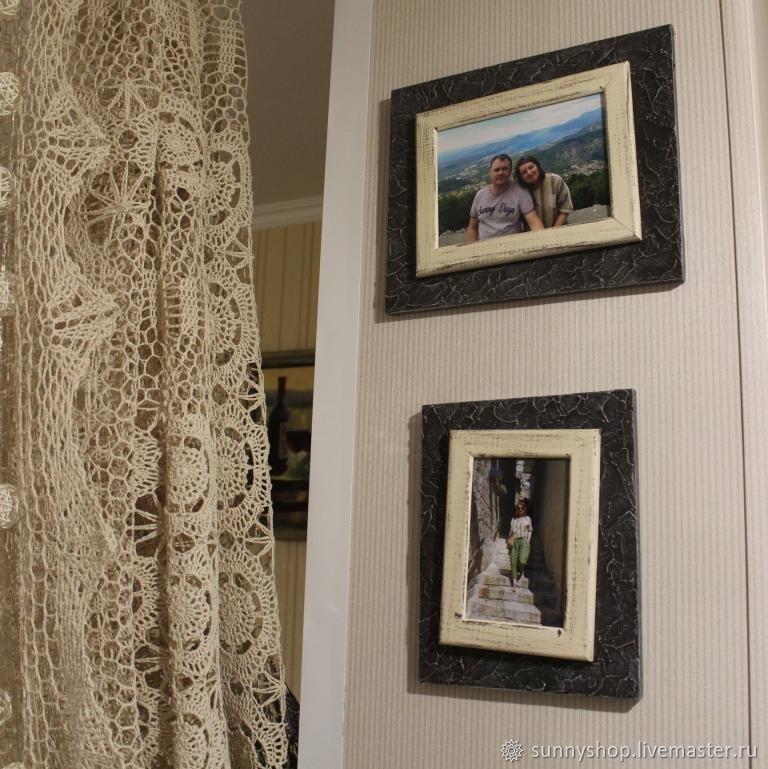 Подвески ручной работы. Ярмарка Мастеров - ручная работа. Купить Комплект рамы деревянные под фото 10х15 и 13х18. Handmade.