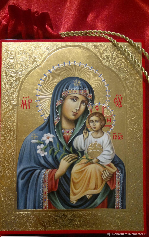 Икона Богородица Неувядаемый Цвет, Иконы, Санкт-Петербург,  Фото №1