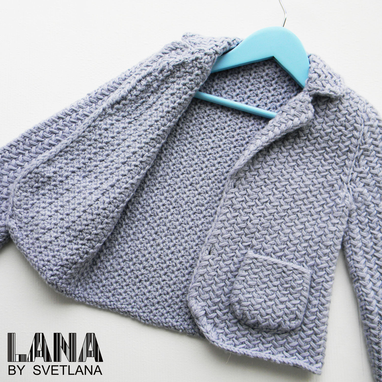 Вязанный пиджак схемы