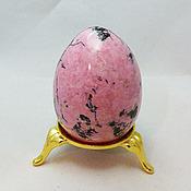 """Яйца ручной работы. Ярмарка Мастеров - ручная работа Яйцо из Родонита """"Весна"""""""". Handmade."""