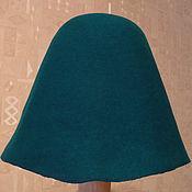 Материалы для творчества ручной работы. Ярмарка Мастеров - ручная работа Фетр шляпный Pine Green. Handmade.