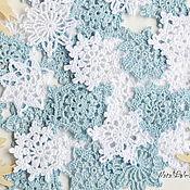 Материалы для творчества handmade. Livemaster - original item Snowflake crochet hook 4 cm. Handmade.
