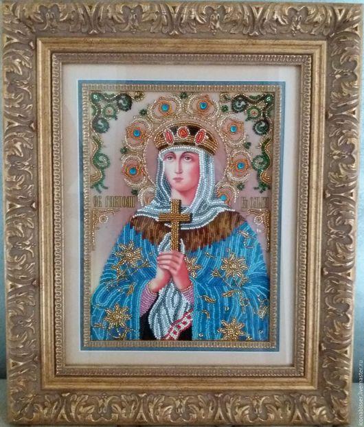 Икона `Святая Ольга`