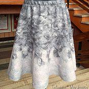 Одежда ручной работы. Ярмарка Мастеров - ручная работа Юбка валяная четырехклинка. Handmade.