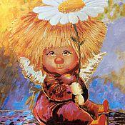 Картины и панно ручной работы. Ярмарка Мастеров - ручная работа Ангелочек2. Handmade.