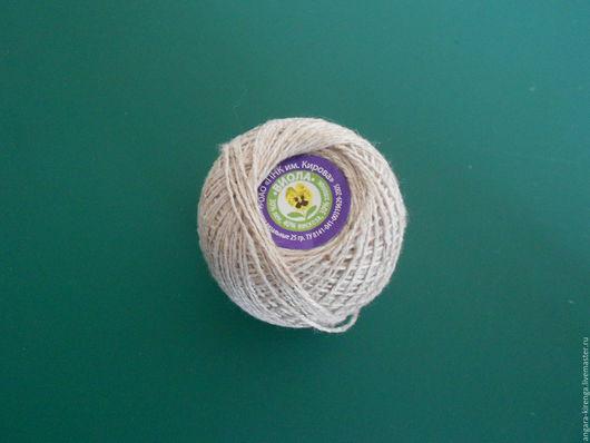 """Вязание ручной работы. Ярмарка Мастеров - ручная работа. Купить Пряжа льняная """"Виола"""". Handmade. Пряжа льняная, нитки для вязания"""