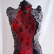 """Одежда ручной работы. Ярмарка Мастеров - ручная работа Жилет """"Королева драконов"""". Handmade."""
