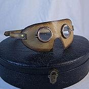 Субкультуры ручной работы. Ярмарка Мастеров - ручная работа Защитные очки в ретро-стиле. Handmade.
