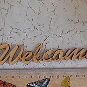 Материалы для творчества ручной работы. Ярмарка Мастеров - ручная работа слова из фанеры. Handmade.