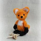 Куклы и игрушки ручной работы. Ярмарка Мастеров - ручная работа лисенок Ник. Handmade.