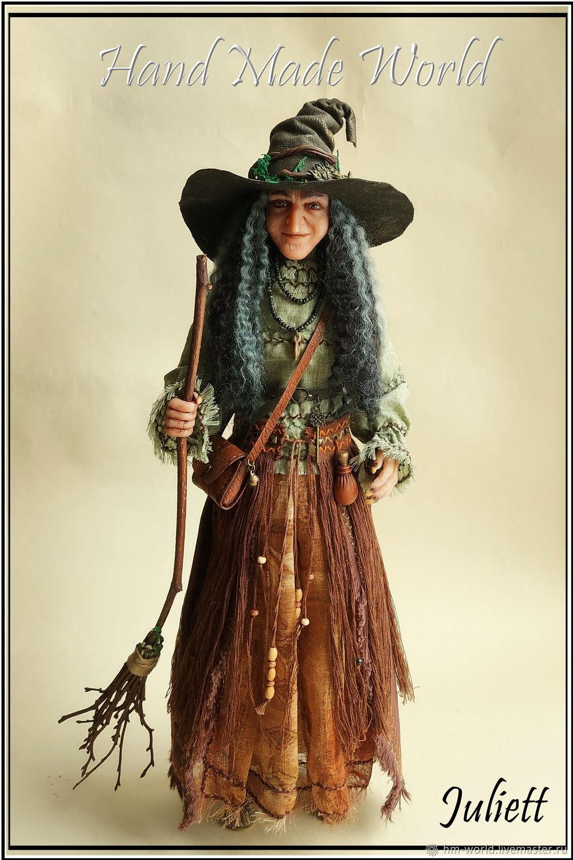 Original interior doll 'Witch', Dolls, Ufa,  Фото №1
