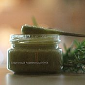 Косметика ручной работы handmade. Livemaster - original item Honey Rosemary, scrub the heels of  270 grams, 700 grams.. Handmade.
