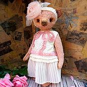 """Куклы и игрушки ручной работы. Ярмарка Мастеров - ручная работа Мишка """"Pinky"""". Handmade."""