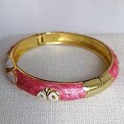 Винтаж handmade. Livemaster - original item Cloisonne enamel bangle. Handmade.