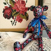"""Куклы и игрушки ручной работы. Ярмарка Мастеров - ручная работа Мишка тедди """"Цветочек"""". Handmade."""