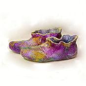 Обувь ручной работы handmade. Livemaster - original item Felted dimoski Cartoons for sleep Size 41. Handmade.