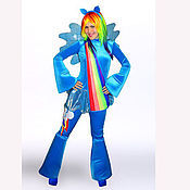 Одежда handmade. Livemaster - original item Suit for animator Rainbow Pony. Handmade.