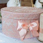 """Свадебный салон ручной работы. Ярмарка Мастеров - ручная работа Свадебный сундучок """"Розовые сны"""". Handmade."""