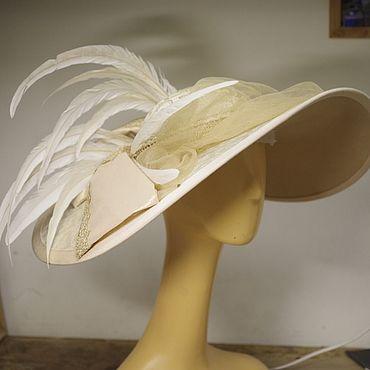 """Субкультуры ручной работы. Ярмарка Мастеров - ручная работа Женская ретро шляпка """"Анна"""" в стиле модерн. Handmade."""