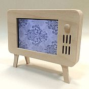 Подарки к праздникам ручной работы. Ярмарка Мастеров - ручная работа Чехол - Подставка для телефона - телевизор (на фото1-2  Айфон - 4S). Handmade.