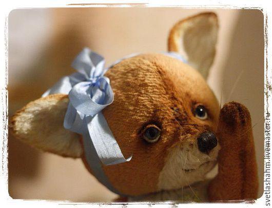 Мишки Тедди ручной работы. Ярмарка Мастеров - ручная работа. Купить Лисенок. Handmade. Оранжевый, подарок на любой случай