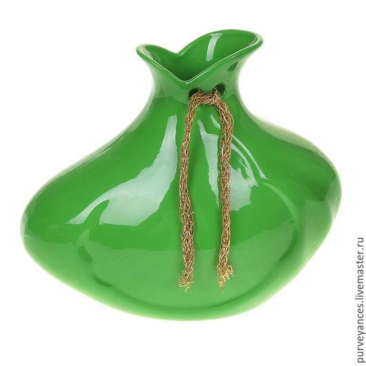 """Вазы ручной работы. Ярмарка Мастеров - ручная работа. Купить Ваза """"Парус"""". Handmade. Комбинированный, ваза для цветов, ваза абстракция"""