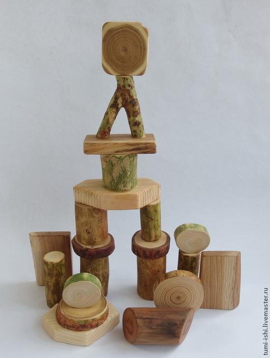 Развивающие игрушки ручной работы. Ярмарка Мастеров - ручная работа. Купить Вальдорфский конструктор. Handmade. Бежевый, развивающая игрушка, ясень