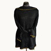 Одежда ручной работы. Ярмарка Мастеров - ручная работа Туника с длинными рукавами, закрывающими ладошки. Handmade.