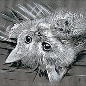 Картины и панно ручной работы. Ярмарка Мастеров - ручная работа Котенок. Handmade.