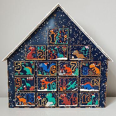 Сувениры и подарки ручной работы. Ярмарка Мастеров - ручная работа Адвент календарь. Handmade.