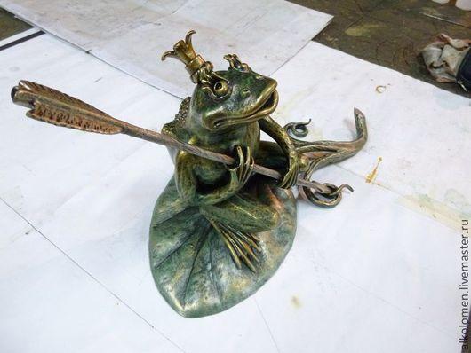 Царевна лягушка в патине