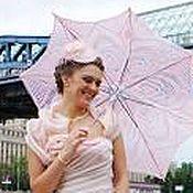 Свадебный салон handmade. Livemaster - original item umbrella 3. Handmade.