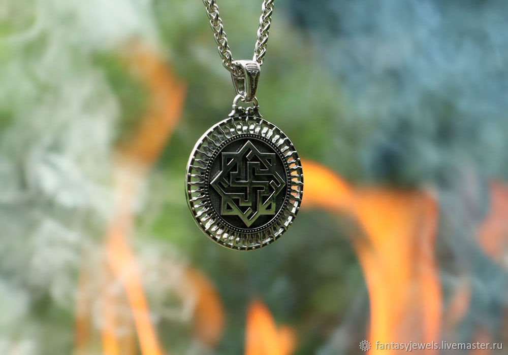 Talisman/Pendant Valkyrie of silver 925, Pendants, Moscow,  Фото №1
