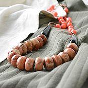 Украшения handmade. Livemaster - original item Beads from natural stones SAFARIS. Handmade.