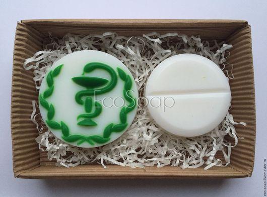 Мыло ручной работы. Набор мыла `Медик`. Подарок врачу. Handmade.